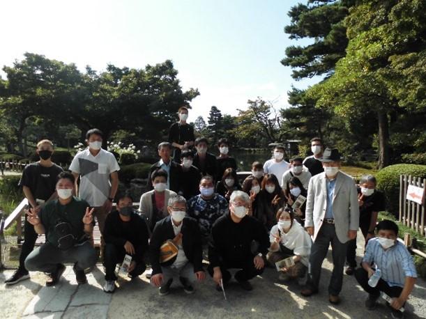 2020-10-08~10-13兼六園にて